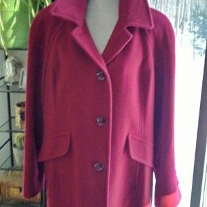 London Fog wool dress coat
